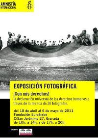 Exposición de Amnistía Internacional 'Son mis derechos'