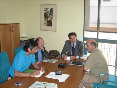 Reunión con el Director General de Museos de la Consejería de Cultura de la Junta de Andalucía
