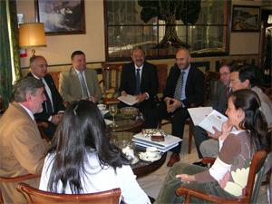 Encuentro de la AFA con las Fundaciones de a provincia de Jaén