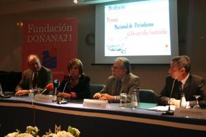 La Fundación Doñana 21 premia la labor informativa medioambiental