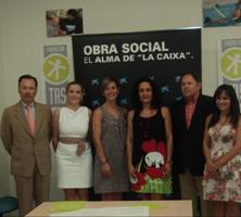 La Obra Social 'la Caixa' destina 15.000 euros a la Fundación para el Trabajo, la Asistencia y Superación de Barreras