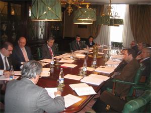 Reunión de la Junta Directiva de la Asociación