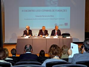 Sesión de apertura del IV Encuentro  Luso – Español de Fundaciones