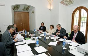 Reunión de la Comisión Ejecutiva de la Junta Directiva de la Asociación de Fundaciones Andaluzas