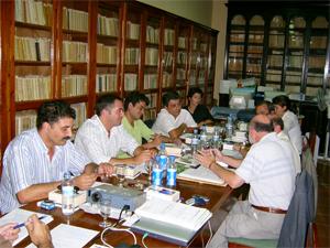 Grupo de trabajo de las fundaciones literarias.