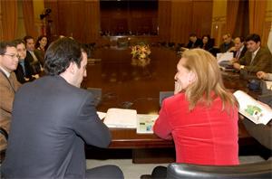 Reunión con la Consejera de Medio Ambiente