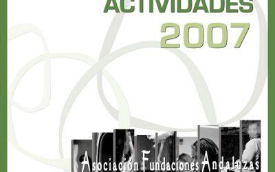 Memoria de Actividades 2007