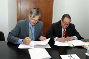 Firma de Convenio de Colaboración con la Coordinadora Catalana de Fundacions