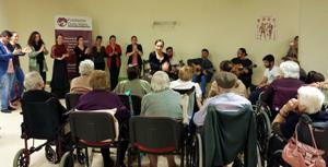 La Fundación Cristina Heeren comparte su flamenco con la familia de Fundomar