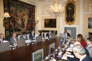 Reunión de la Junta Directiva de la Asociación de Fundaciones Andaluzas