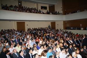 Luis Galindo reilusiona a un auditorio de más de 500 personas