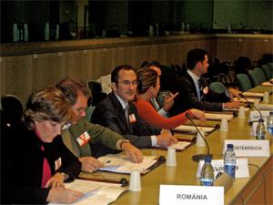 Visita al Consejo de la Unión Europea