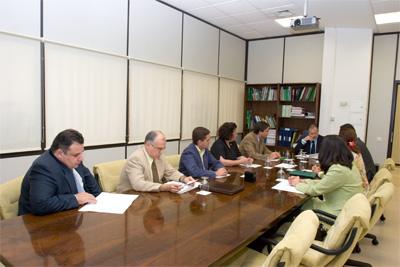 """El Grupo de Trabajo """"Fundaciones Sanitarias"""" es recibido por el viceconsejero de Salud"""