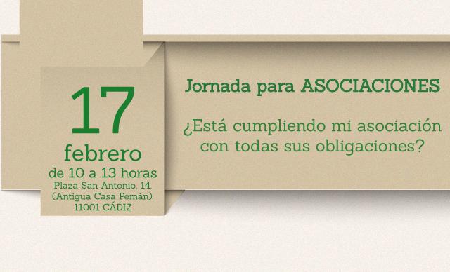 Jornada para asociaciones en Cádiz: ¿Está cumpliendo mi asociación con todas sus obligaciones?
