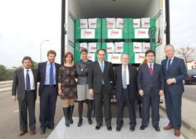 La Caravana de la Ilusión de la Fundación MAS reparte cien mil kilos de alimentos