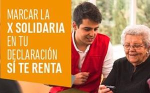 Declara tu solidaridad marcando la casilla X Solidaria de la Renta