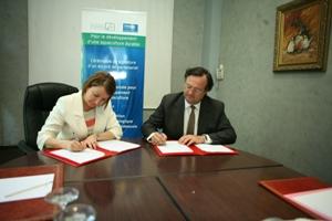 CTAQUA firma un acuerdo de colaboración con la agencia marroquí ANDA