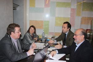 Reunión de cuatro Asociaciones Autonómicas de Fundaciones en Extremadura