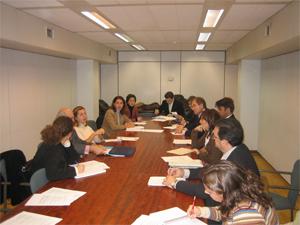 Reunión con el Consejero de Trabajo y Asuntos Sociales de la REPER