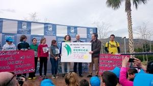 III Marcha Solidaria Intercentros en Ciudad Jardín por Cudeca
