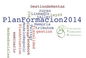 Plan de Formación AFA 2014. Nuevos cursos, talleres y seminarios