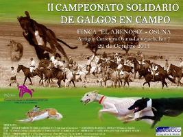 II Campeonato Solidario de Galgos en Campo