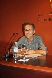 El taller 'Lecciones de Narrativa' de la Fundación Caballero Bonald se estrenó con Eduardo Jordá