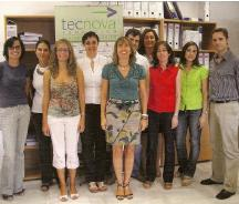 Tecnova amplia sus trabajadores en su certificado de actividad de I+D+I de personal investigador