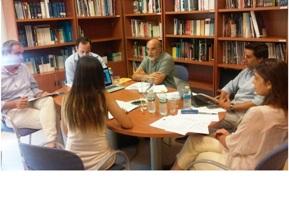 Reunión preparatoria del proyecto 'Platafoma europea de literatura accesible'
