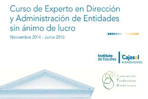 Ultimas plazas para el Curso de Experto en Dirección y Administración de Entidades Sin Ánimo de Lucro