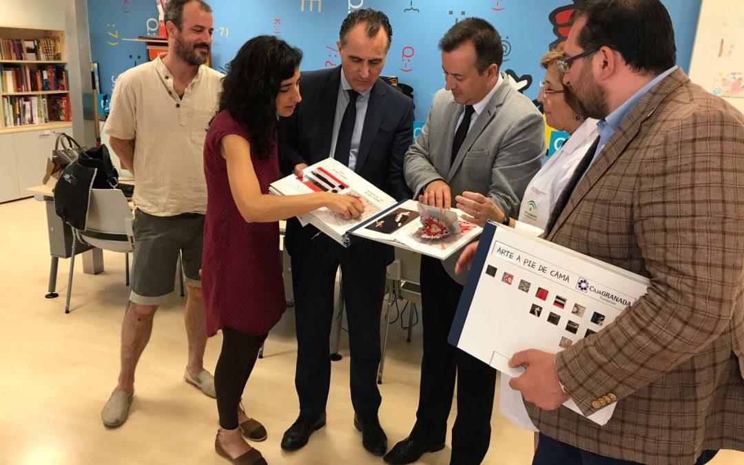 """""""A pie de cama"""", programa de CAJAGRANADA para acercar el arte y la cultura a menores hospitalizados"""