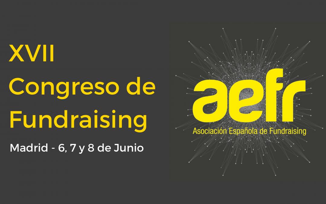 AFA participa en el XVII Congreso de Fundraising en Madrid