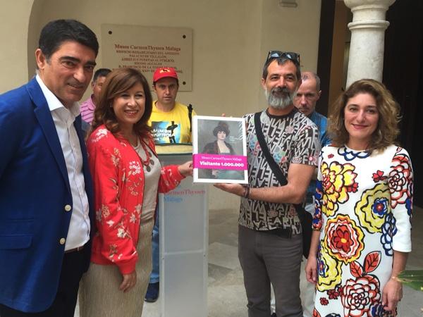 El Museo Carmen Thyssen Málaga recibe el visitante un millón