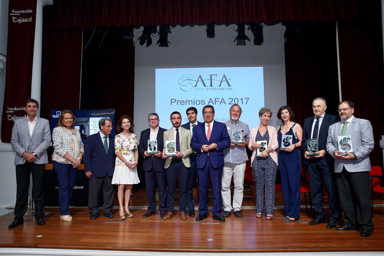 Foto grupo premios AFA 17