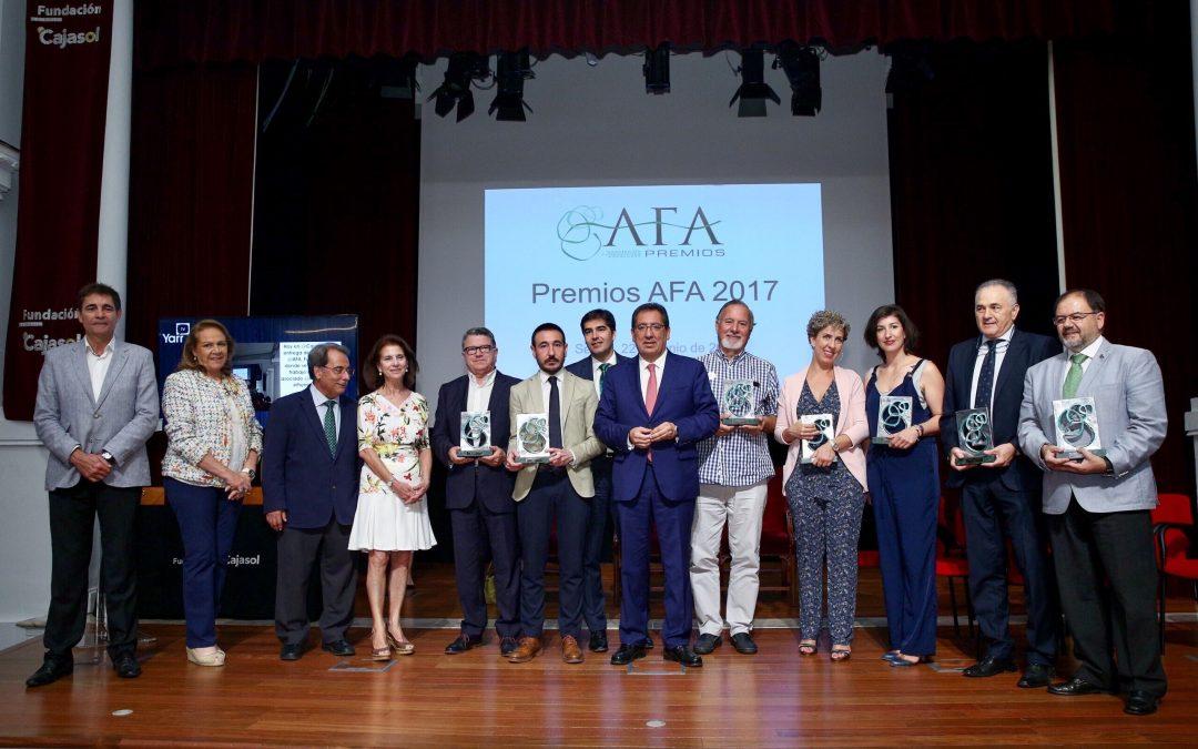 Éxito de participación en los Premios AFA 2017