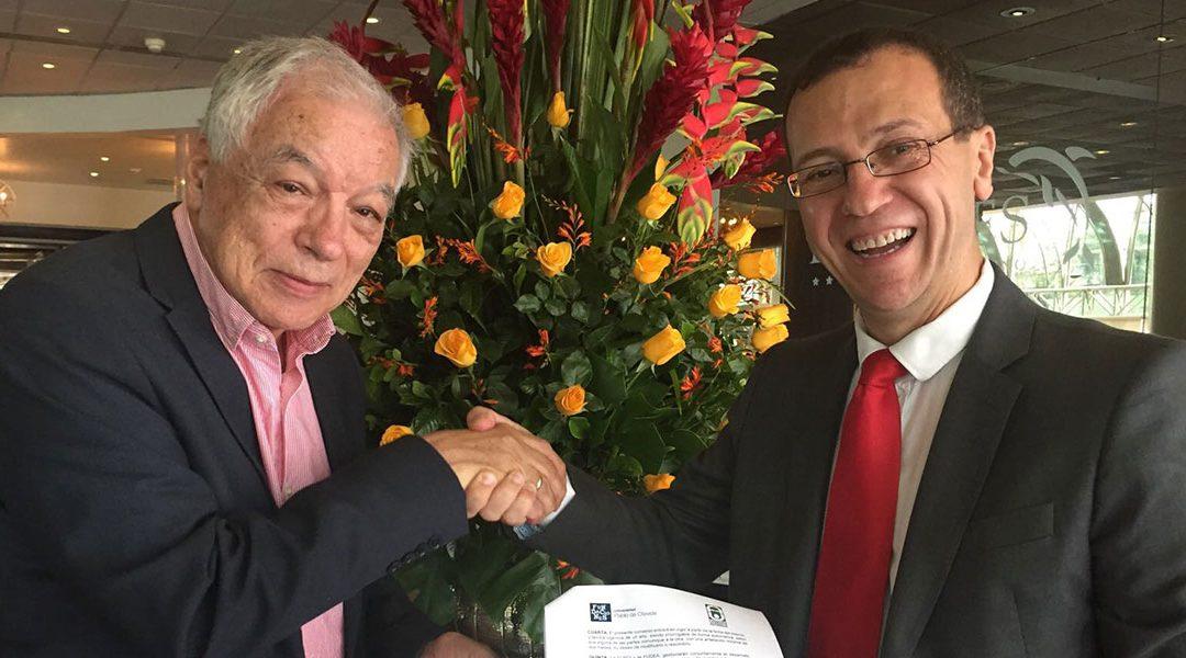 La Fundación UPO y la Fundación Universidad de Antioquía firman un acuerdo de colaboración