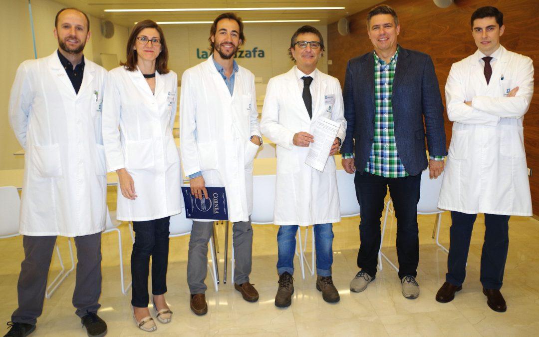 La revista Córnea publica un estudio científico liderado por el Hospital La Arruzafa