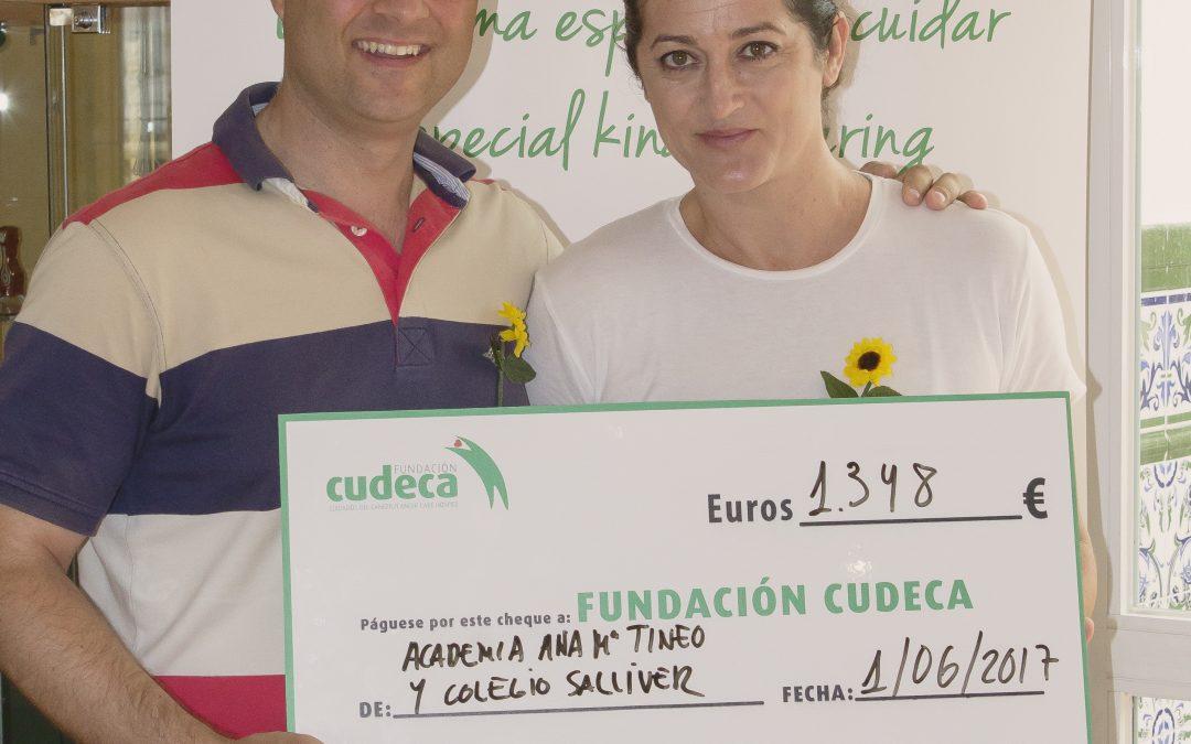 El Festival de danza española recauda más de 1.400 euros para la Fundación Cudeca