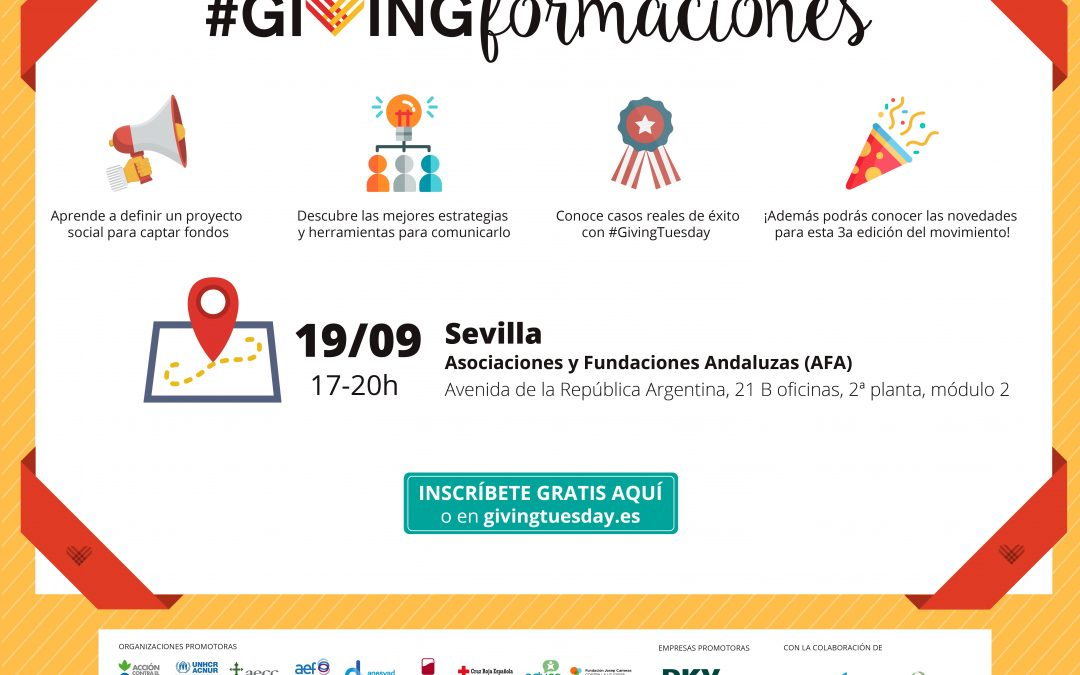 Ven a #GivingTuesday con AFA