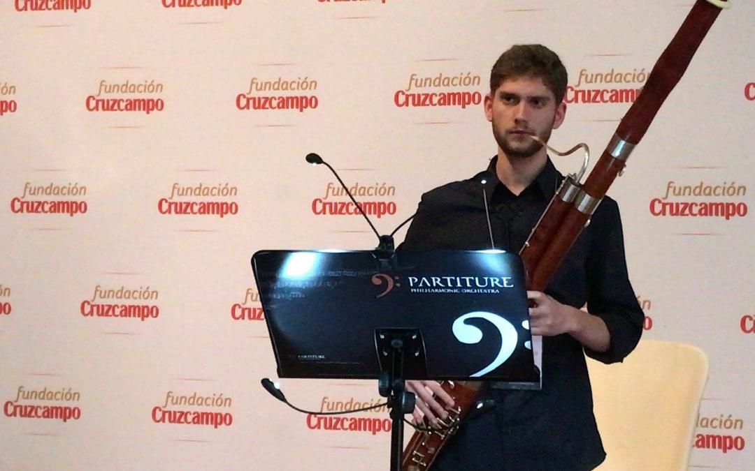 La Fundación Cruzcampo premia a tres jóvenes músicos