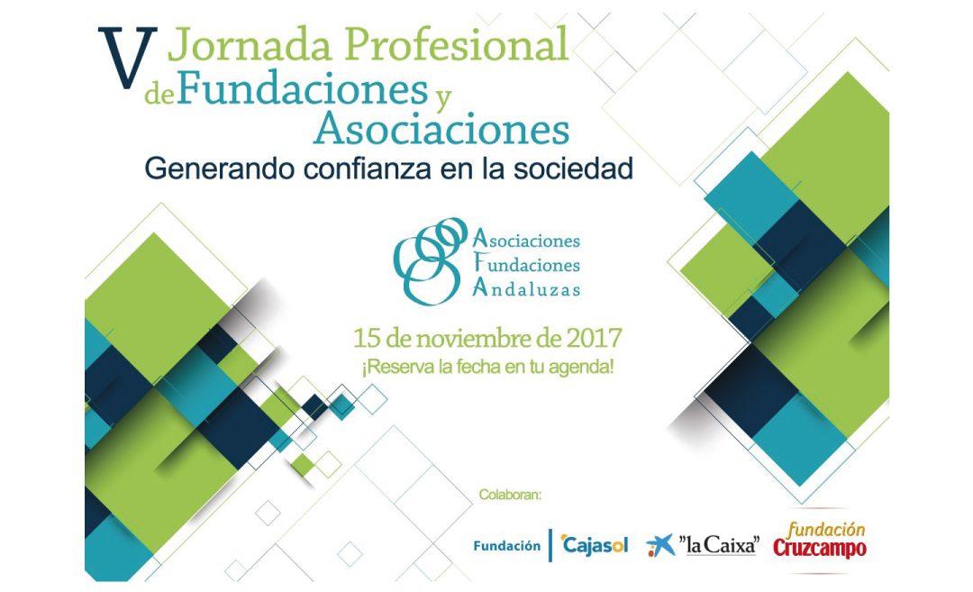 Más de 110 entidades están ya inscritas en la V Jornada Profesional de Fundaciones y Asociaciones