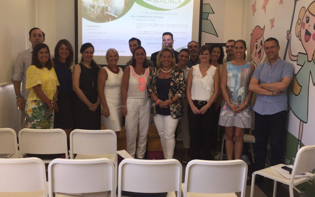 Las fundaciones y asociaciones de Málaga comparten experiencias