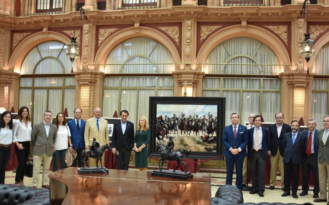 El pintor Ferrer-Dalmau enseña en su obra historia de España