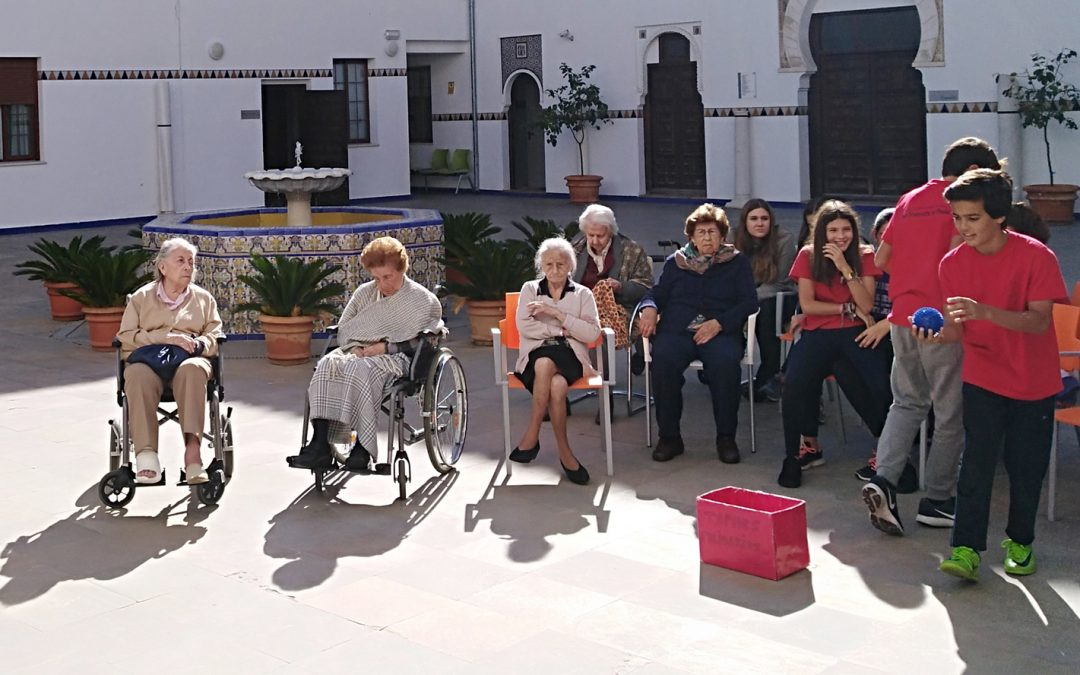 Encuentro Intergeneracional entre los mayores de San Juan de la Palma y alumnos del San Francisco de Paula