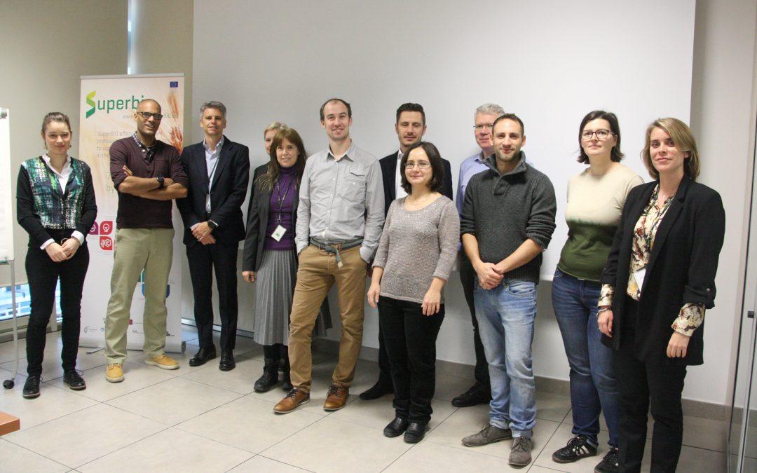 La Corporación Tecnológica de Andalucía acoge una reunión del proyecto europeo SuperBIO
