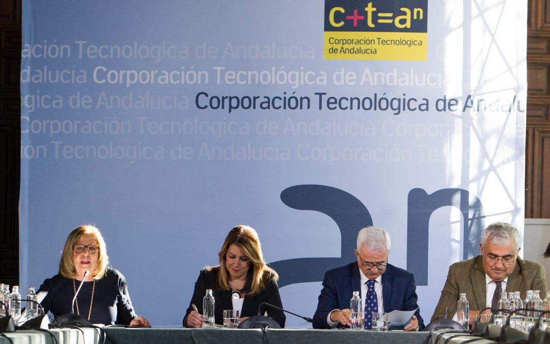 Susana Díaz preside la reunión del Patronato de Corporación Tecnológica de Andalucía