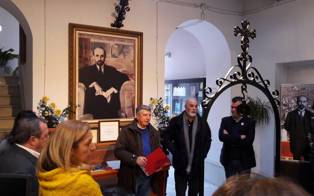 Intensa tarde literaria en la casa-museo de Juan Ramón con tres interesantes propuestas