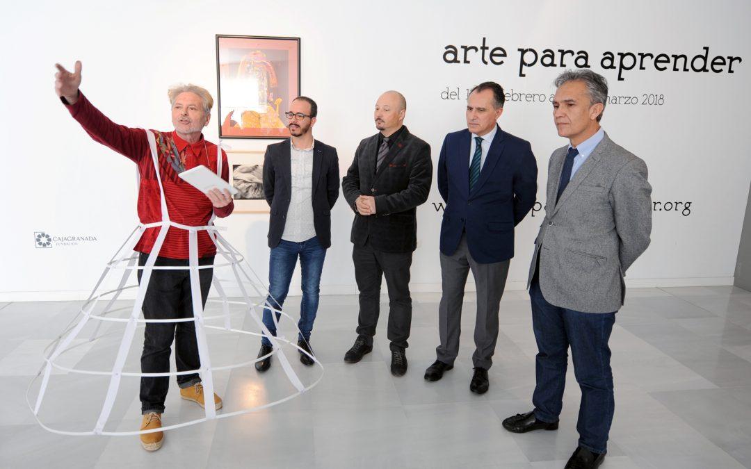 """La exposición """"Arte para aprender """" convierte al espectador en artista en el Museo CAJAGRANADA"""