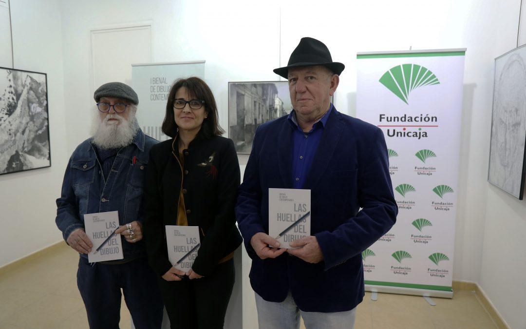 Fundación Unicaja y Aplama exponen en Málaga las obras seleccionadas de la I Bienal de Dibujo Contemporáneo