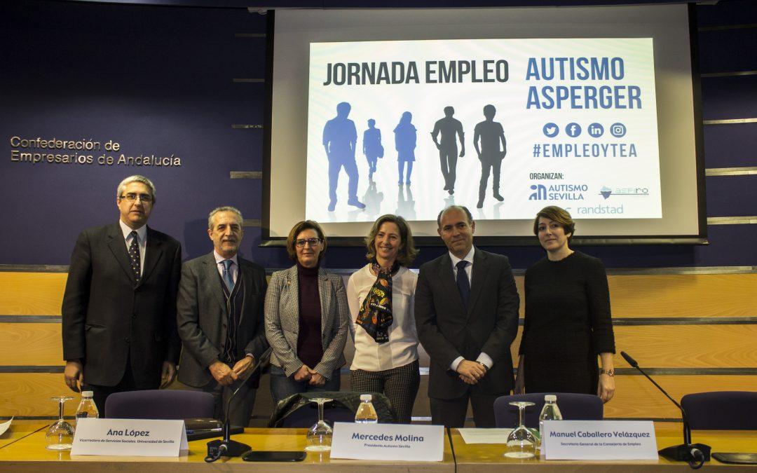 Más de 100 personas se dan cita en la I Jornada sobre Empleo y TEA organizada por Autismo Sevilla y Fundación Randstad